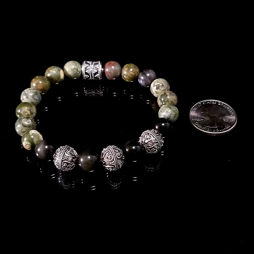 Bracelet-Rainforest-Jasper-Obsidian-31-Silver-10mm-2.jpg