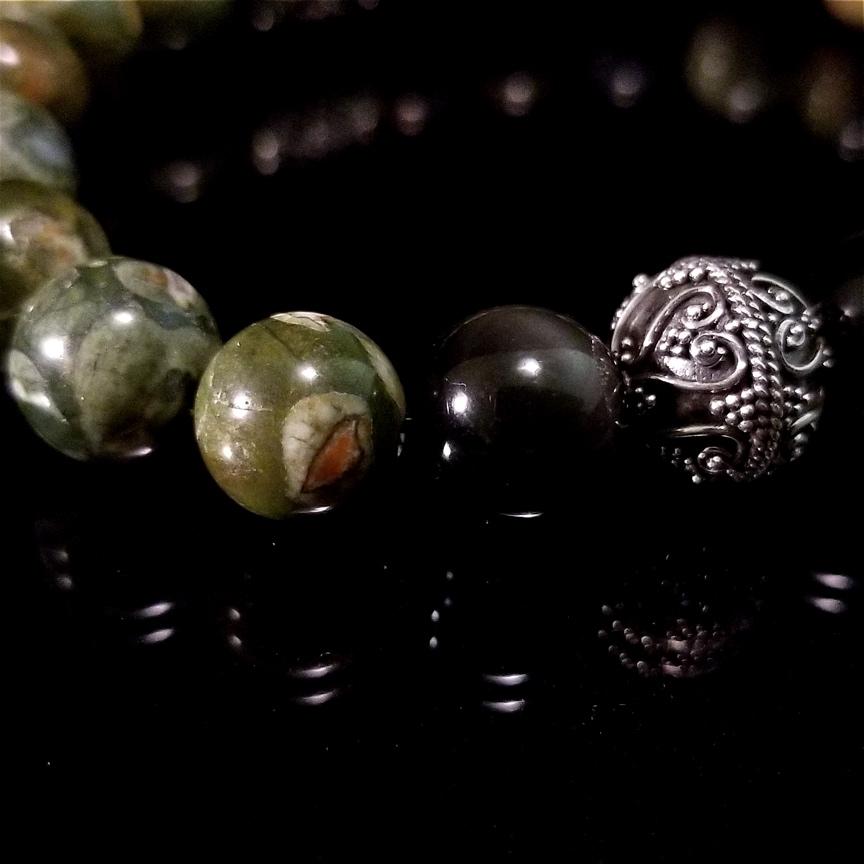 Bracelet-Rainforest-Jasper-Obsidian-31-Silver-10mm-3.jpg