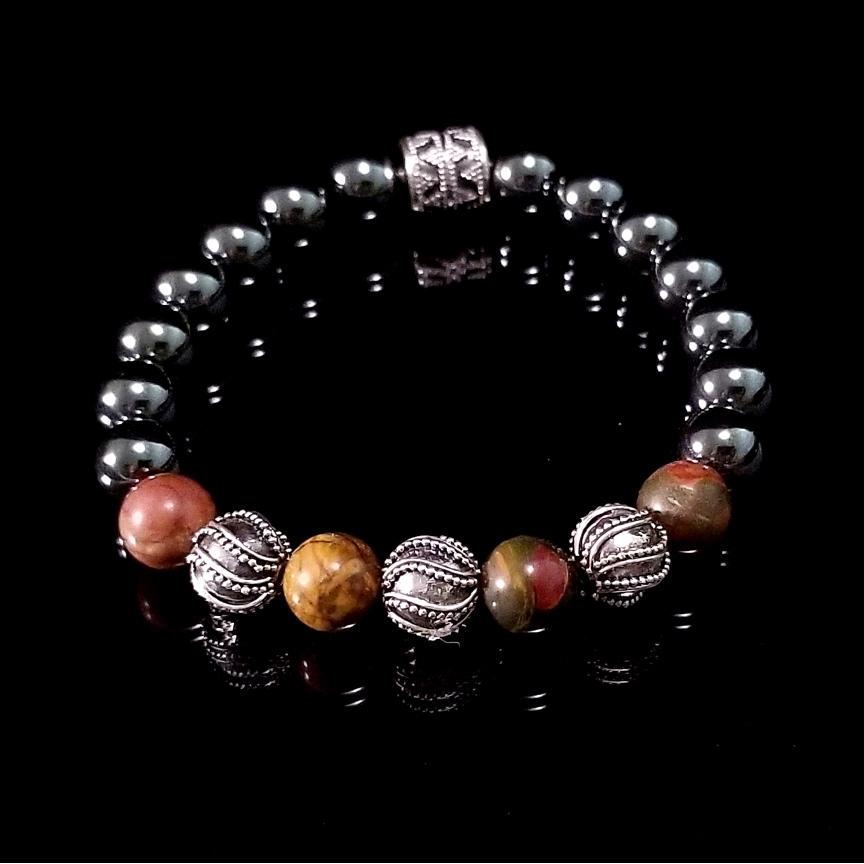 Bracelet-Red-Creek-Jasper-Hematite-31-Silver-10mm-1.jpg