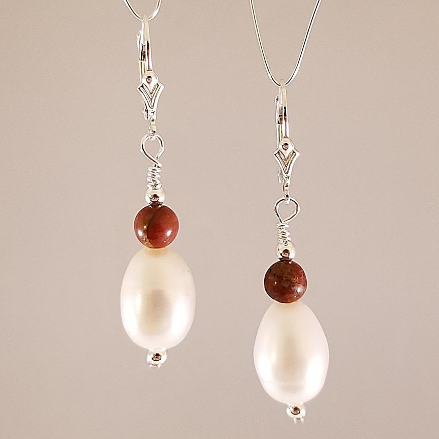Earrings-Large-Pearl-with-Red-Creek-Jasper.jpg