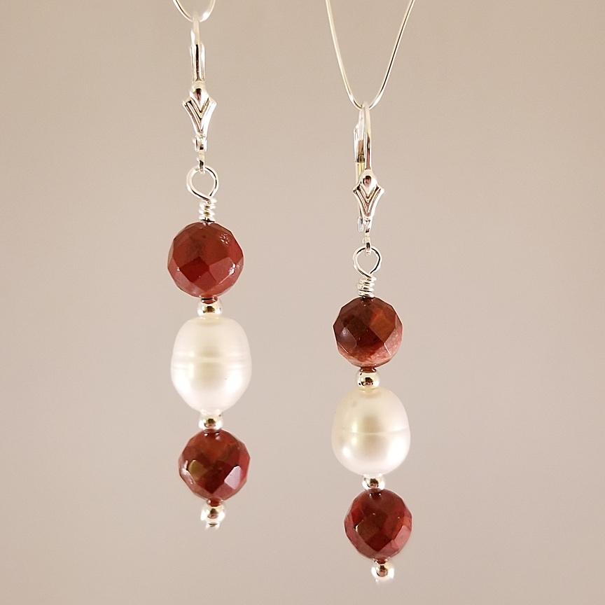Earrings-Potato-Pearl-with-Poppy-Jasper.jpg