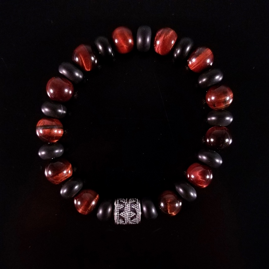 Mens-10mm-Barrel-with-Red-Tiger-Eye-and-Onyx-Rondelles-1.jpg