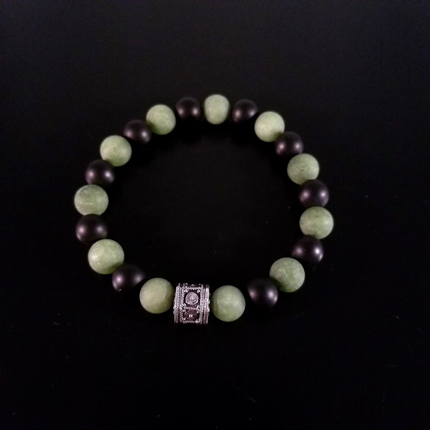 Mens-10mm-Hepta-Barrel-with-Matte-Green-Aventurine-and-Onyx-2.jpg