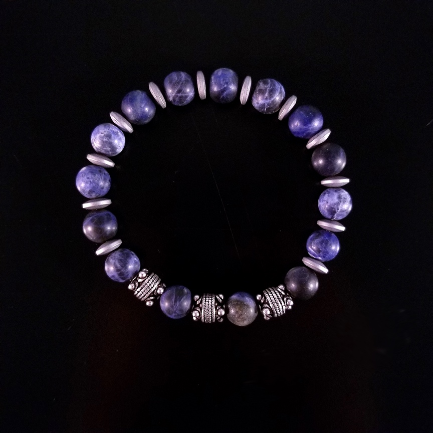 Mens-10mm-Matte-Sodalite-and-Silver-with-Hematite-Discs-1.jpg