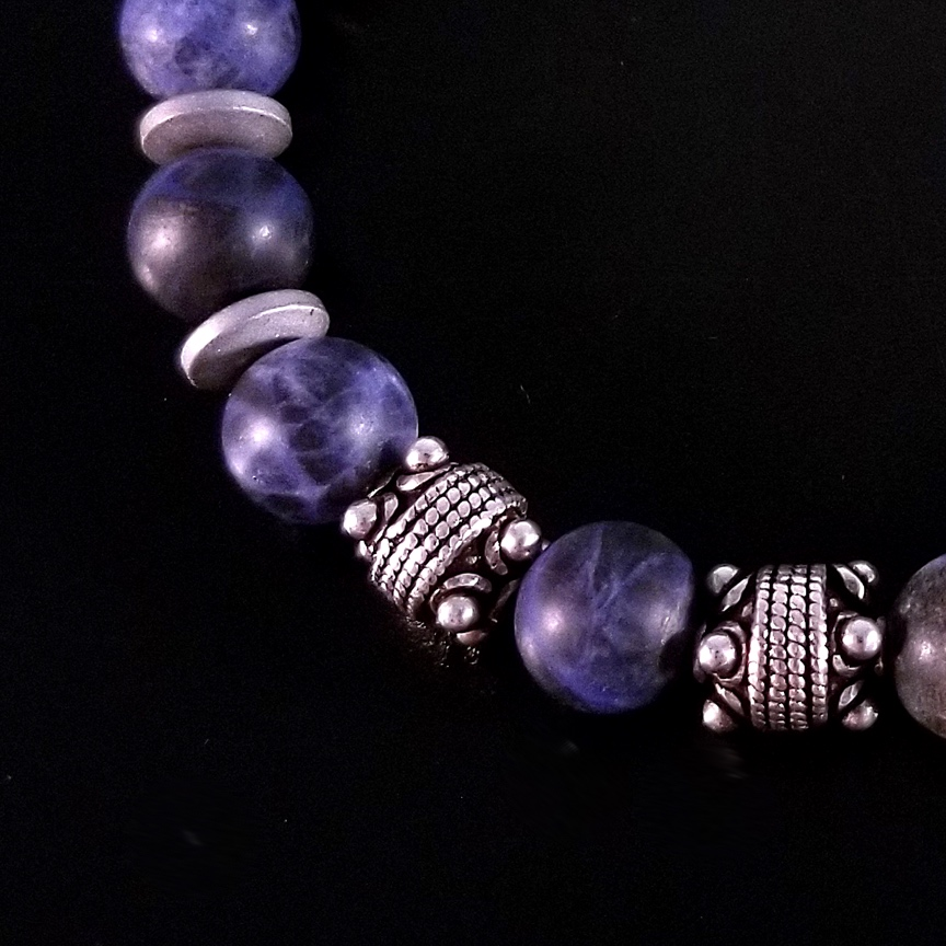 Mens-10mm-Matte-Sodalite-and-Silver-with-Hematite-Discs-3.jpg