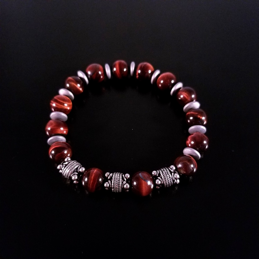 Mens-10mm-Red-Tiger-Eye-and-Silver-with-Hematite-Discs-2.jpg