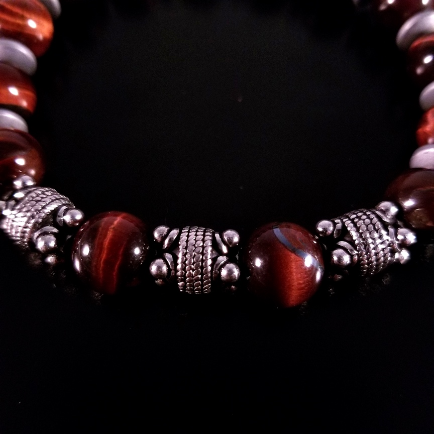 Mens-10mm-Red-Tiger-Eye-and-Silver-with-Hematite-Discs-3.jpg
