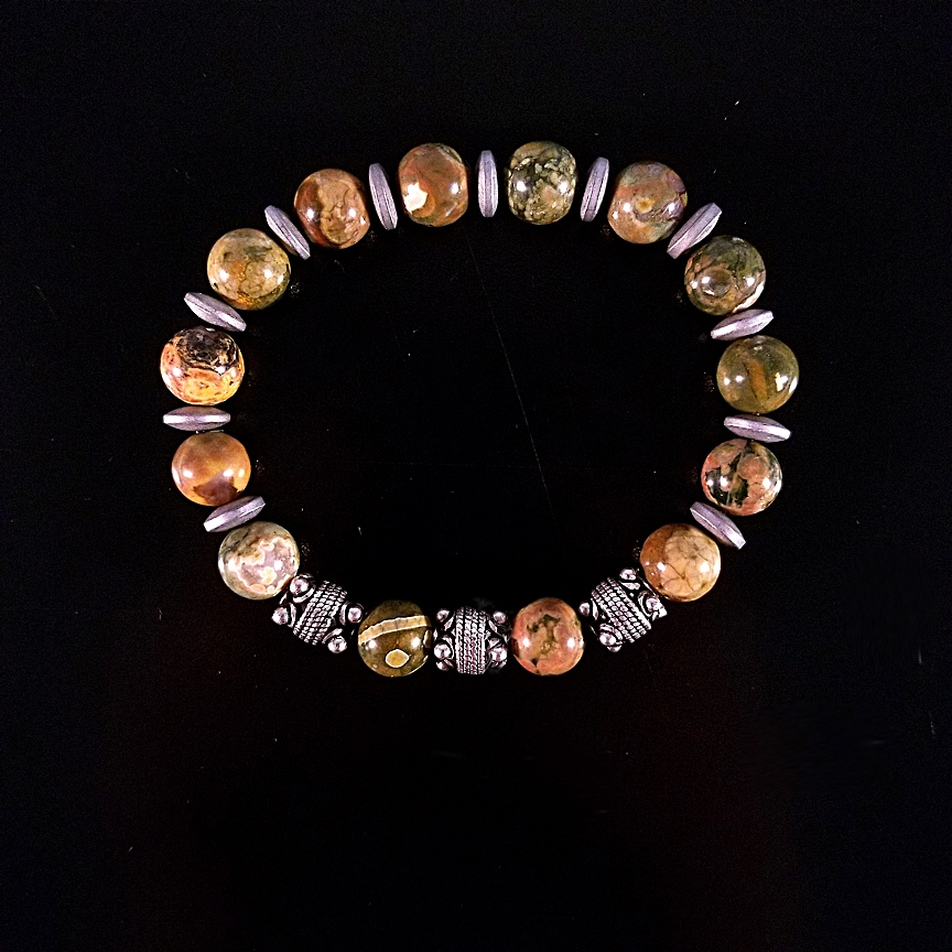 Mens-10mm-Rhyolite-and-Silver-with-Hematite-Discs-1.jpg