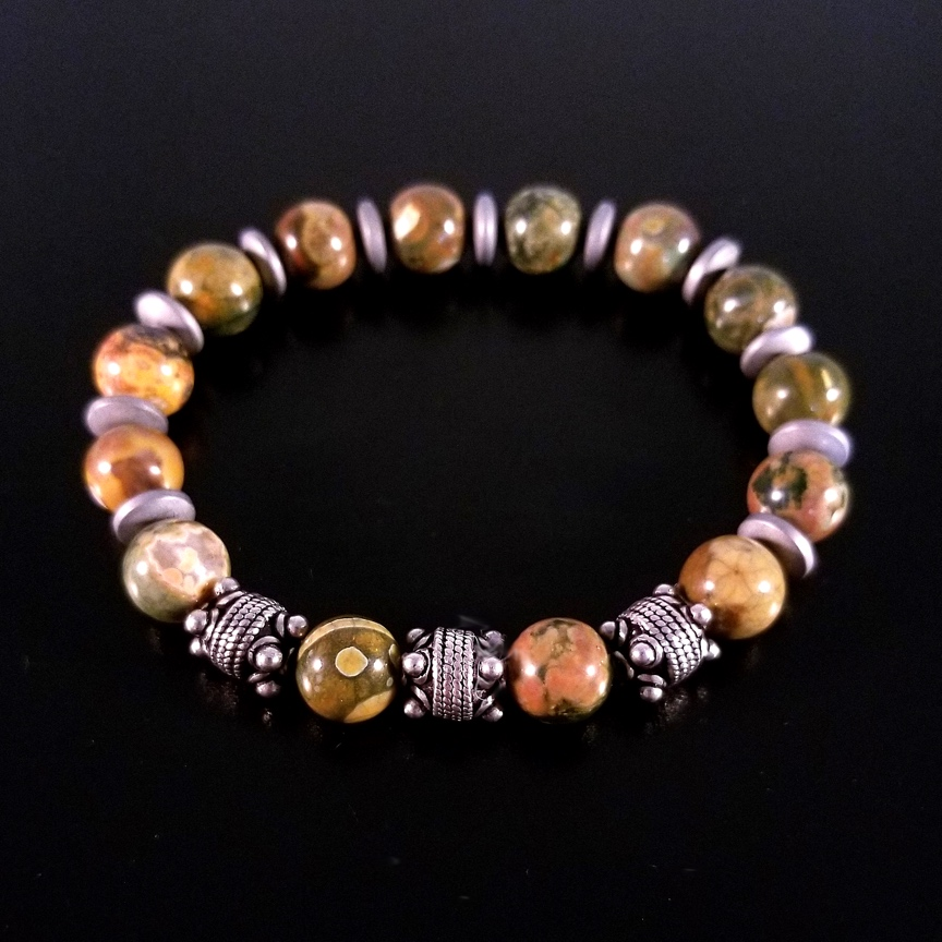 Mens-10mm-Rhyolite-and-Silver-with-Hematite-Discs-2.jpg