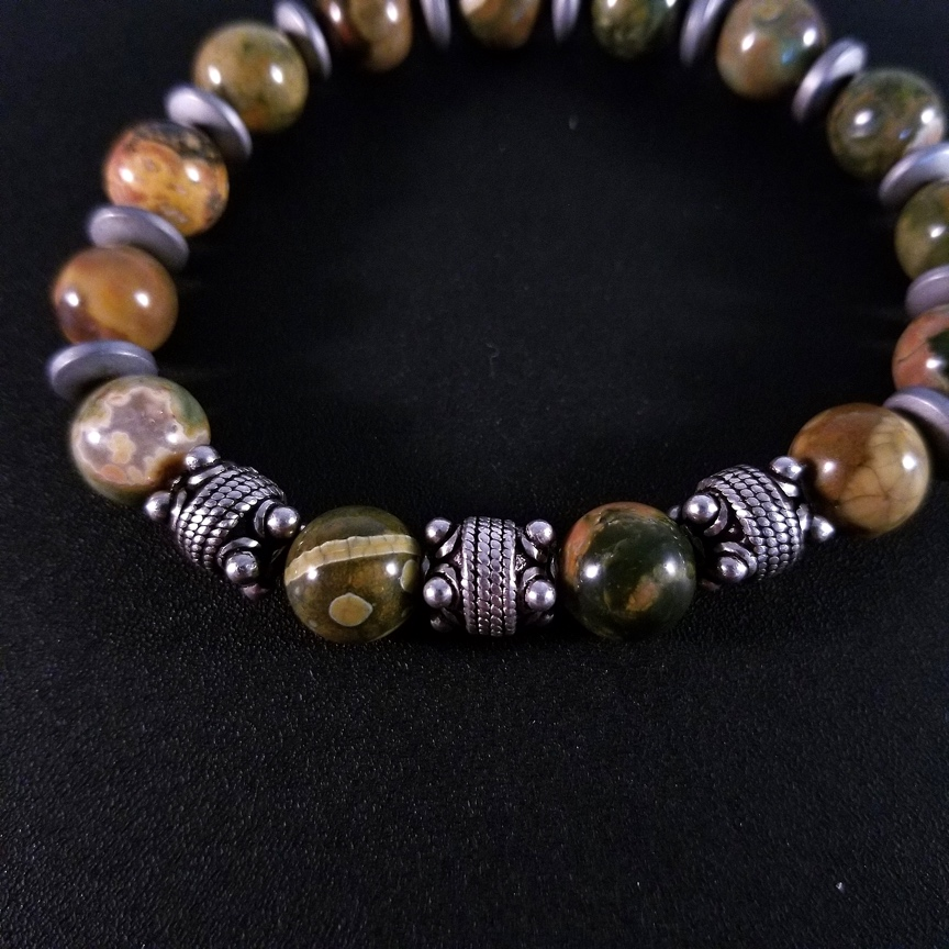Mens-10mm-Rhyolite-and-Silver-with-Hematite-Discs-6.jpg